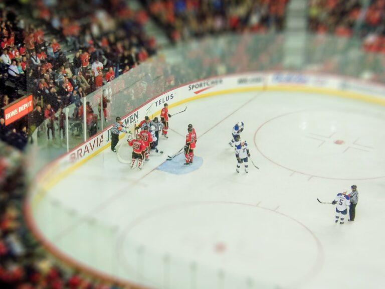 ice hockey, stadium, sport